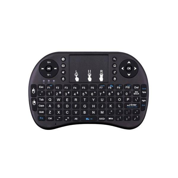 مینی کیبورد بی سیم همراه با تاچ پد مدل  WIFI 2.4GHz | 2.4GHz  Wireless Mini Keyboard With Touchpad