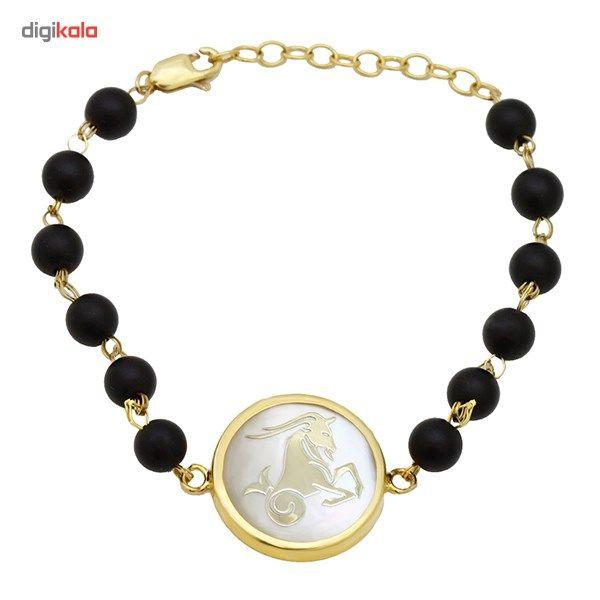 دستبند طلا 18 عیار ماهک مدل MB0125 - مایا ماهک -  - 2