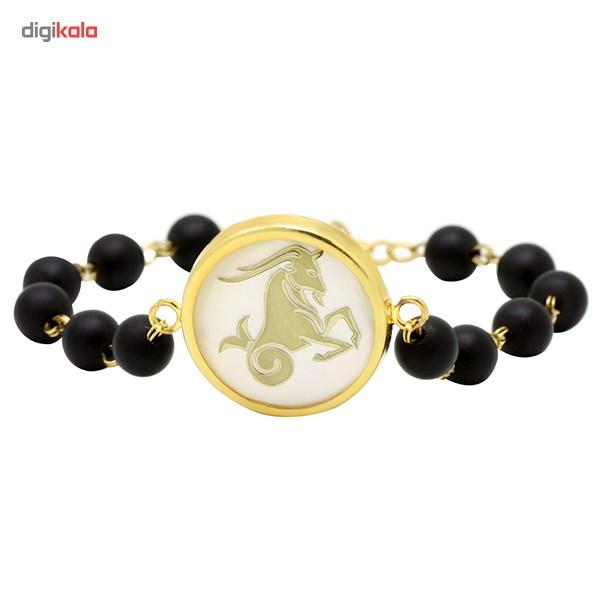 دستبند طلا 18 عیار ماهک مدل MB0125 - مایا ماهک -  - 3