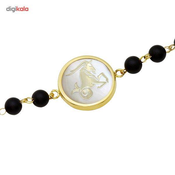 دستبند طلا 18 عیار ماهک مدل MB0125 - مایا ماهک -  - 1