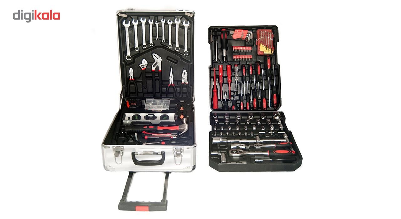 مجموعه 186 عددی ابزار مگا تولز مدل M50013 thumb 2 1