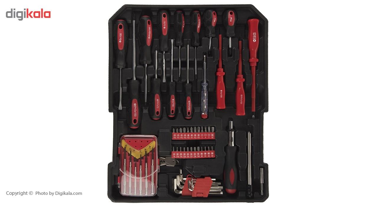 مجموعه 186 عددی ابزار مگا تولز مدل M50013 thumb 2 2