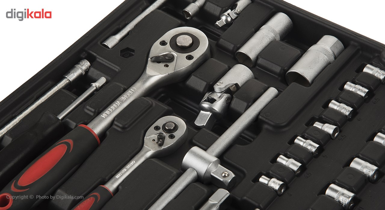 مجموعه 186 عددی ابزار مگا تولز مدل M50013 thumb 2 4