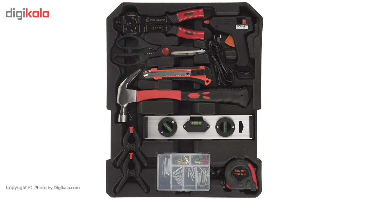 مجموعه 186 عددی ابزار مگا تولز مدل M50013 thumb 2 5