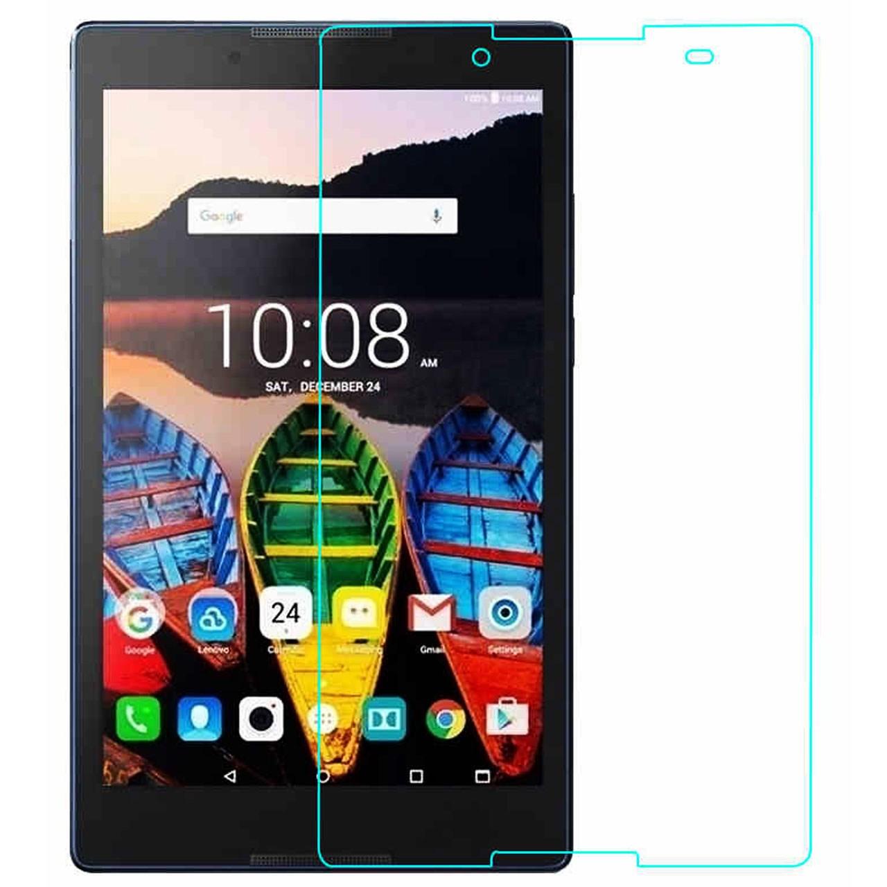 محافظ صفحه نمایش شیشه ای تمپرد مناسب برای تبلت Lenovo Tab 3-A8