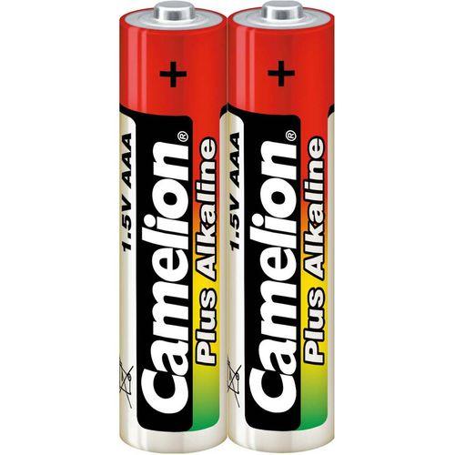 باتری نیم قلمی کملیون مدل Plus Alkaline High Energy بسته 2 عددی