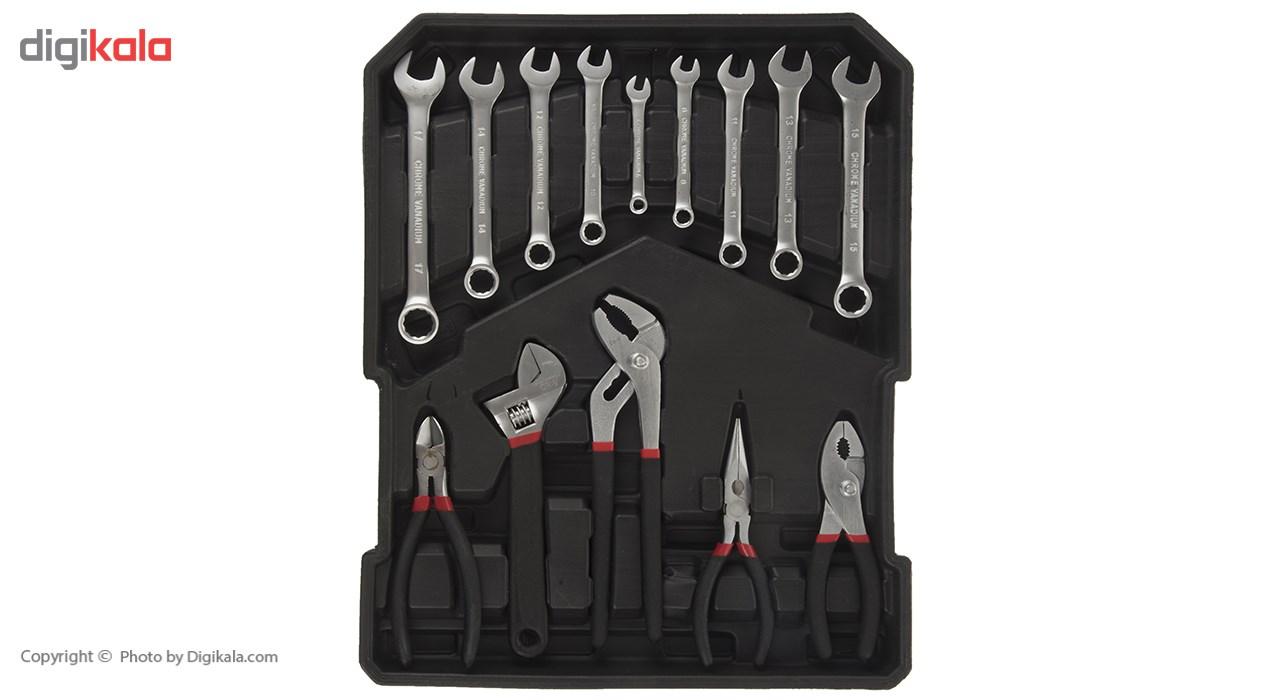 مجموعه 186 عددی ابزار مگا تولز مدل M50013 thumb 2 12