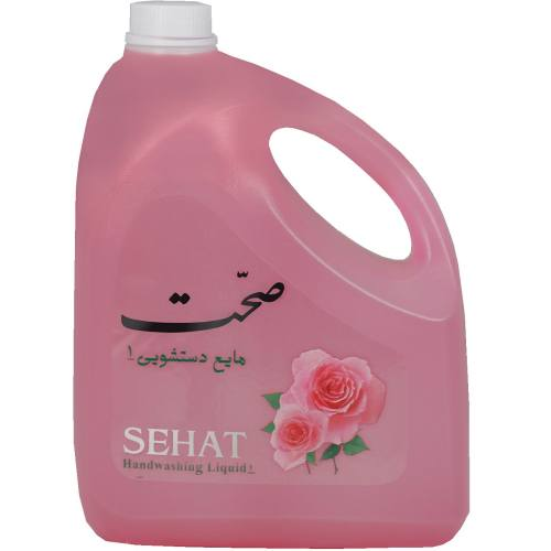 مایع دستشویی صحت مدل Rose مقدار 4000 گرم