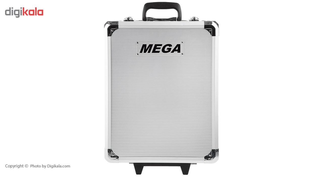 مجموعه 186 عددی ابزار مگا تولز مدل M50013 thumb 2 15