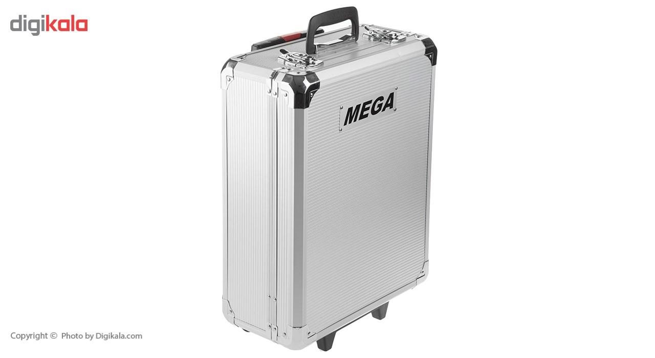 مجموعه 186 عددی ابزار مگا تولز مدل M50013 thumb 2 18