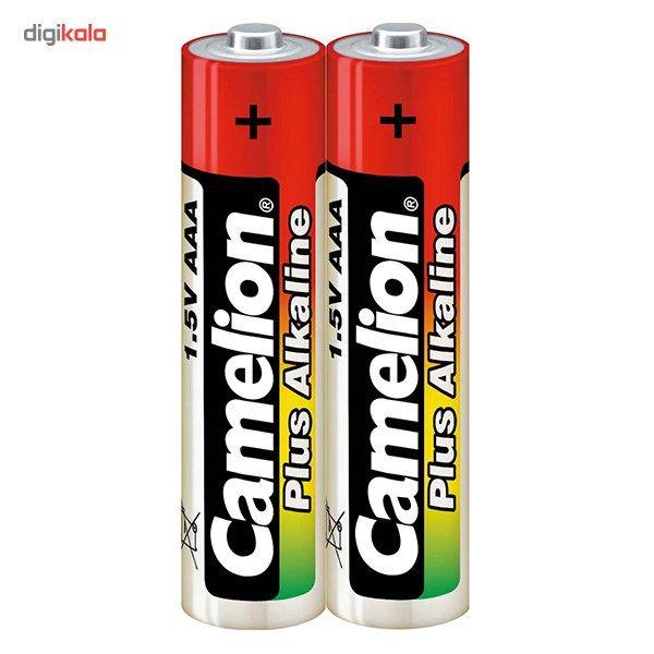 باتری نیم قلمی کملیون مدل Plus Alkaline High Energy بسته 2 عددی main 1 1