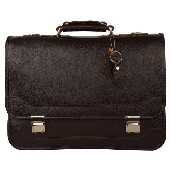 کیف اداری مردانه پارینه چرم مدل l160-7