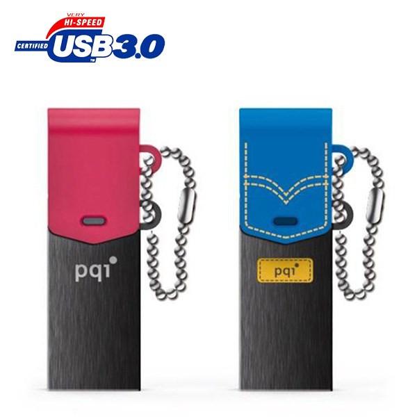 فلش مموری USB 3.0 & OTG پی کیو آی مدل کانکت 301 ظرفیت 8 گیگابایت