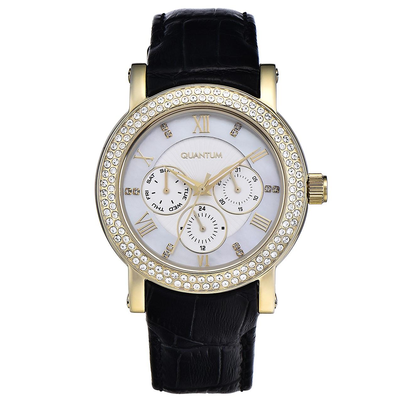 ساعت مچی عقربه ای زنانه کوانتوم مدل IML356.40