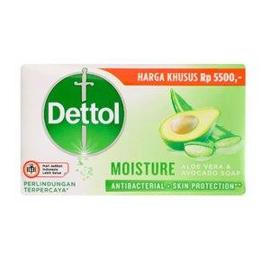 صابون ضد باکتری دتول مدل MOISTURE وزن 100 گرم