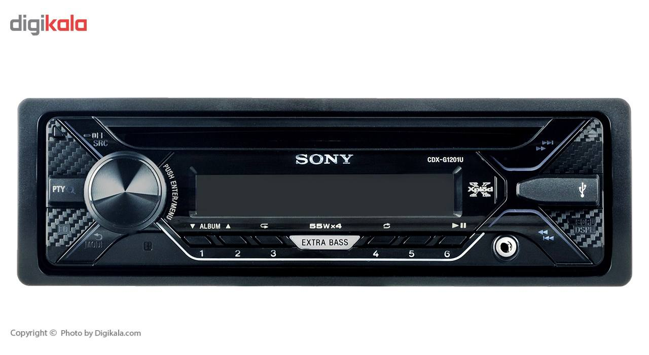 پخش کننده خودرو سونی مدل CDX-G1201U main 1 3