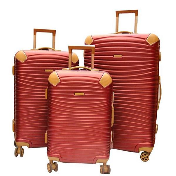 مجموعه سه عددی چمدان امیننت مدل گلد3
