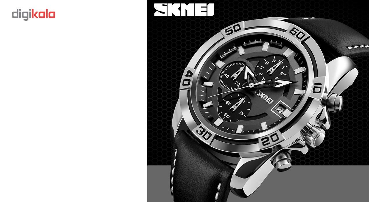 خرید ساعت مچی عقربه ای مردانه اسکمی مدل 9156 کد 04