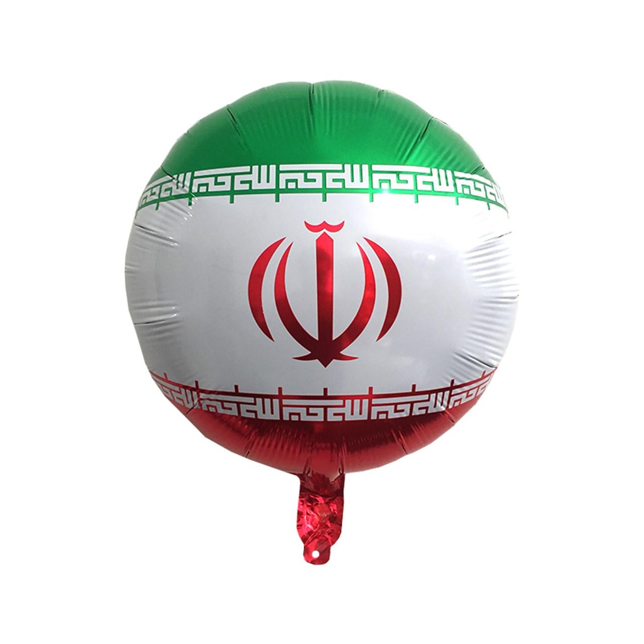 عکس بادکنک فویلی سورتک طرح پرچم ایران