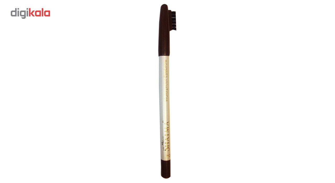 مداد ابرو شایما مدل Waterproof شماره 102 -  - 2