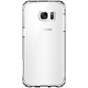 کاور اسپیگن مدل Crystal Shell مناسب برای گوشی موبایل سامسونگ Galaxy S7 Edge