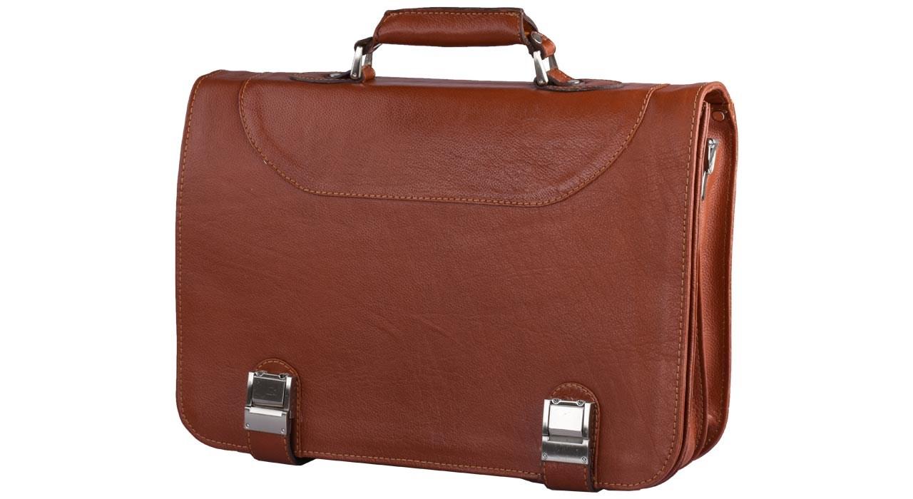 کیف اداری چرم طبیعی کهن چرم مدل L25