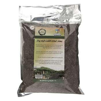 بستر آماده کشت گیاه یوکا گلباران سبز بسته 2 کیلوگرمی