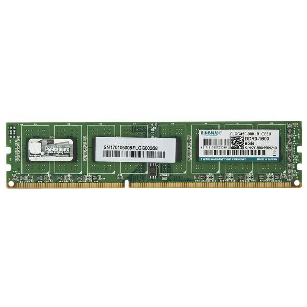 رم دسکتاپ DDR3 تک کاناله 1600 مگاهرتز کینگ مکس ظرفیت 8 گیگابایت