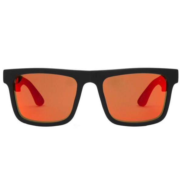عینک آفتابی اسپای سری The Fold مدل Matte Black Bronze w/Red Spectra