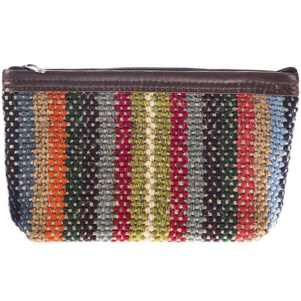 کیف آرایش کنفی هنرکده هیرا مدل پشمی