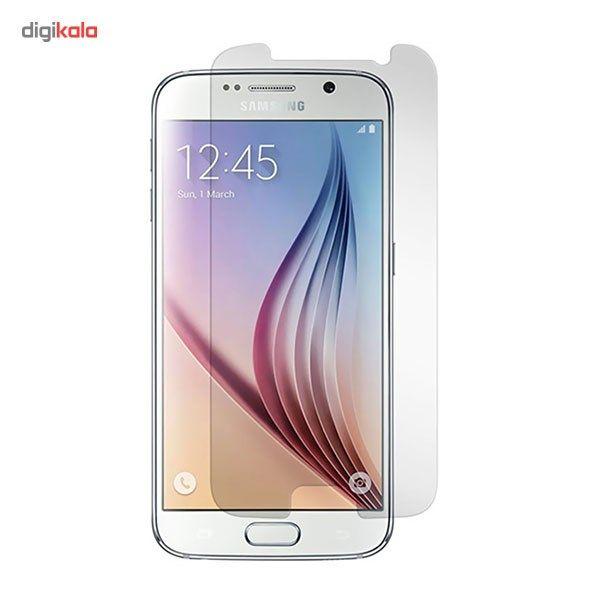 محافظ صفحه نمایش شیشه ای مدل Tempered مناسب برای گوشی موبایل سامسونگ Galaxy S6 main 1 1
