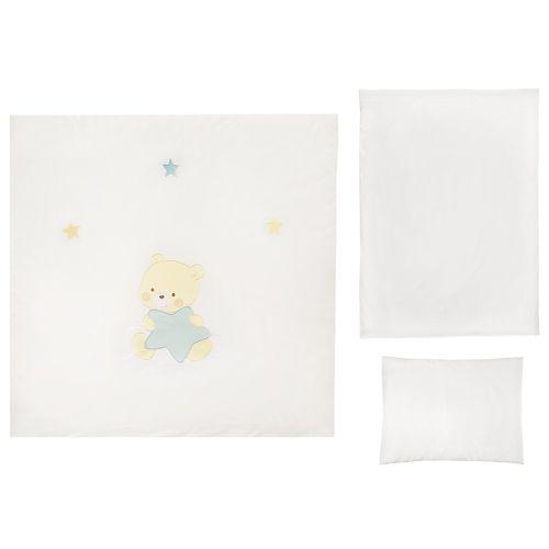 سرویس 3 تکه لحاف کودک مدل Bears And Stars