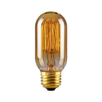 لامپ فیلامنتی انگاره مدل T45 خطی  پایه E27