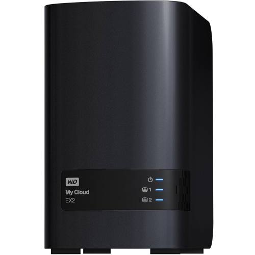 ذخیره ساز تحت شبکه وسترن دیجیتال مدل مای کلاود EX2 ظرفیت 4 ترابایت