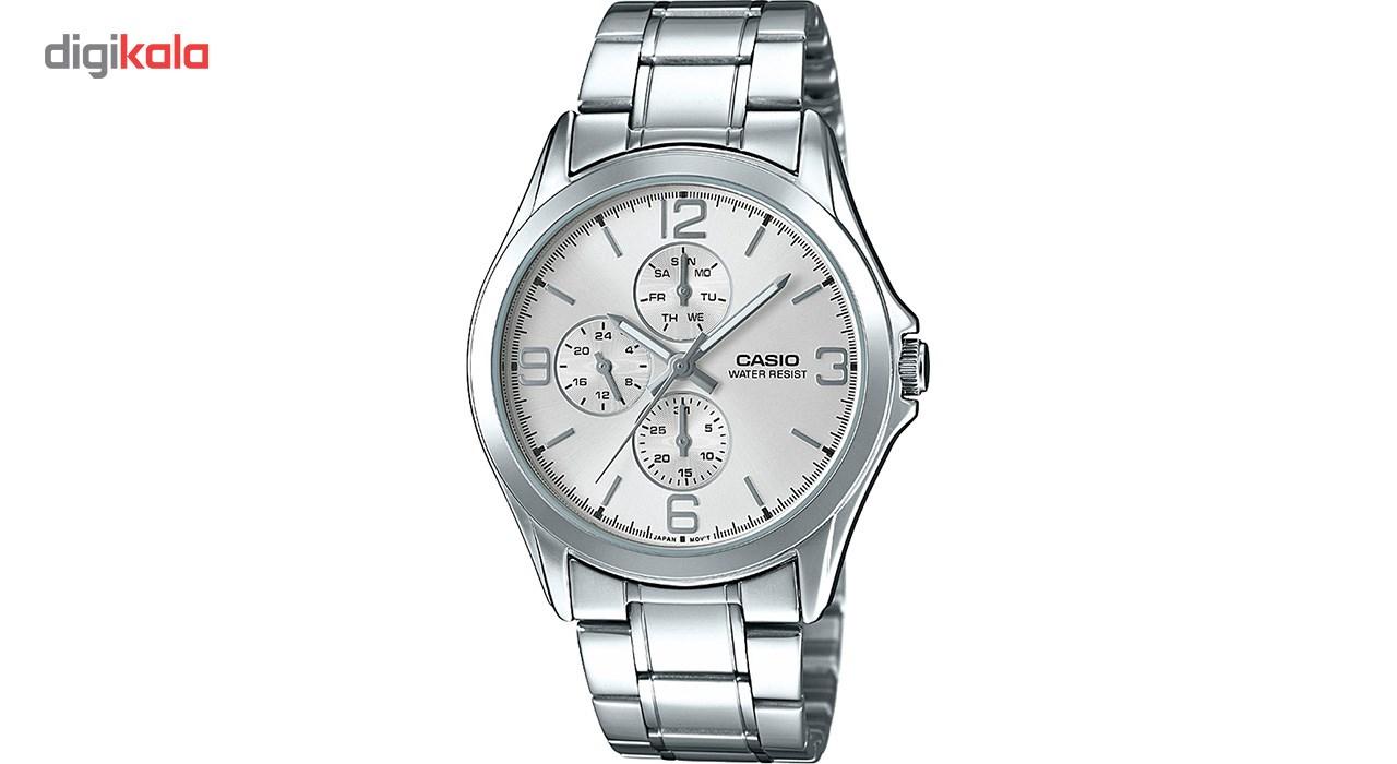 خرید ساعت مچی عقربه ای مردانه کاسیو مدل MTP-V301D-7AUDF | ساعت مچی