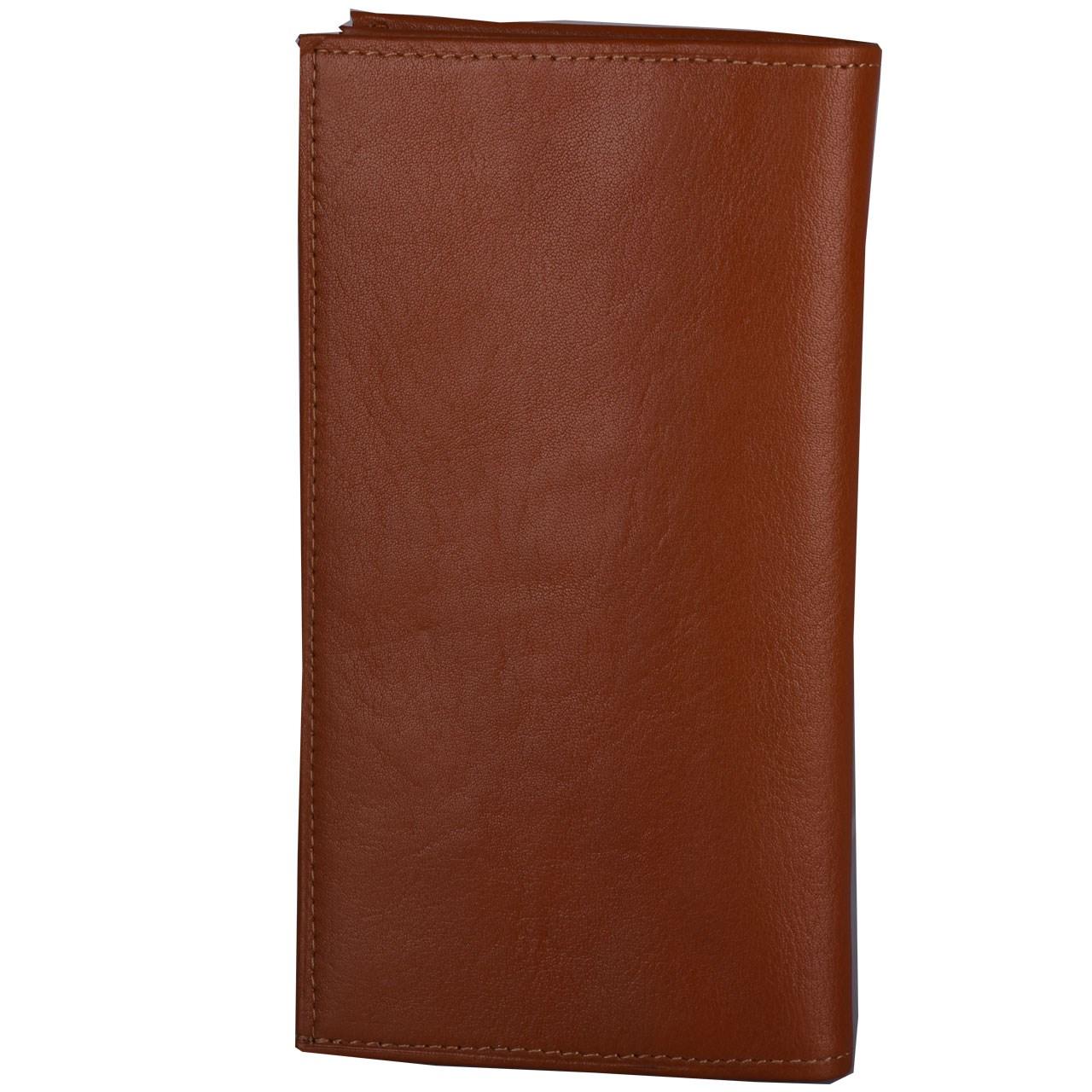 کیف پول چرم طبیعی کهن چرم مدل LW8-1