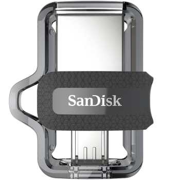 فلش مموری 64G سندیسک USB Flash M3 OTG Sandisk 64GB USB 3 |