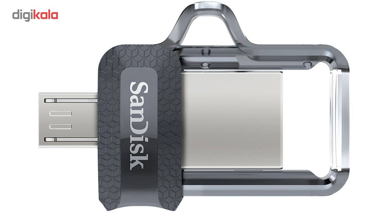 فلش مموری سن دیسک مدل Ultra Dual Drive M3.0 ظرفیت 64 گیگابایت main 1 3