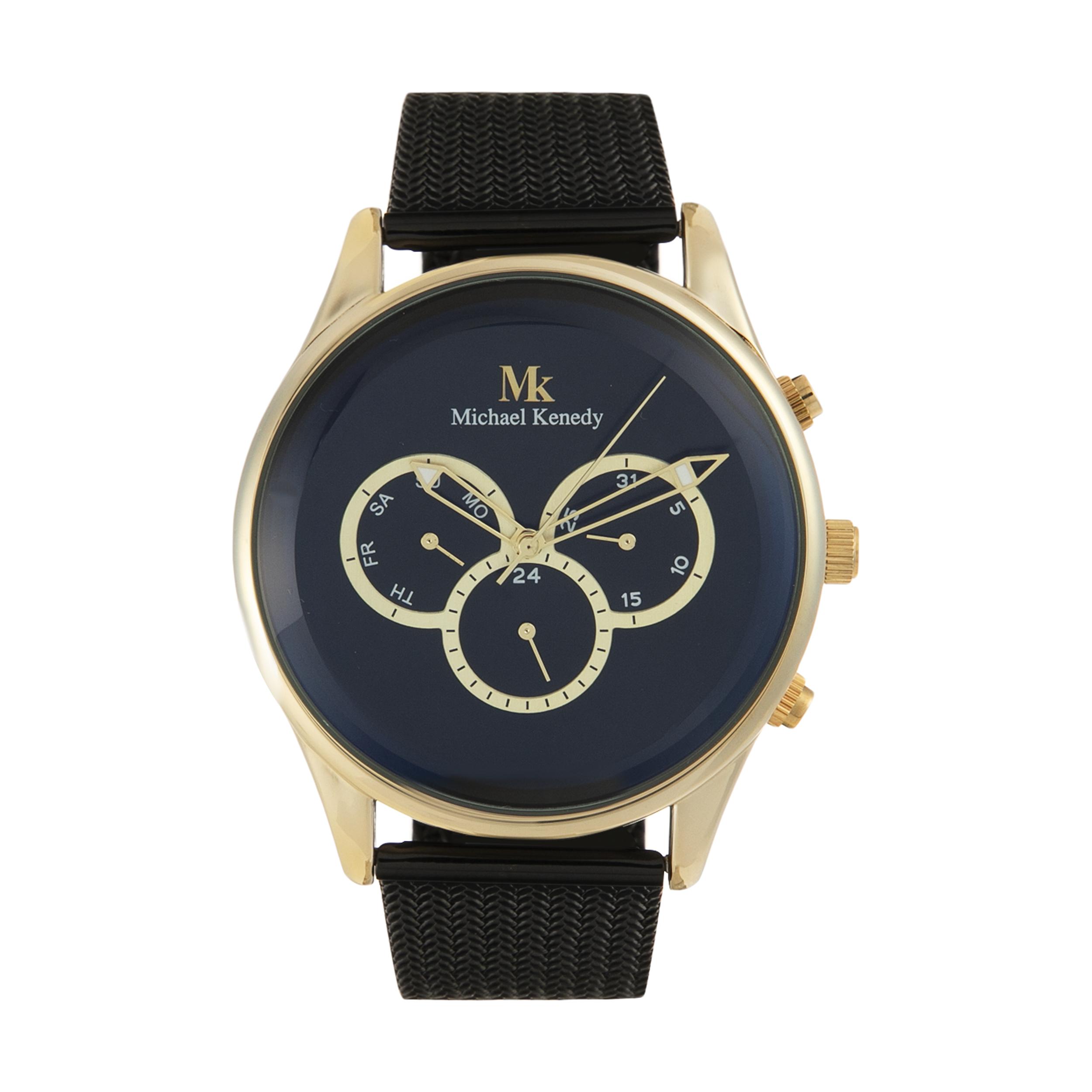 ساعت مچی عقربه ای مایکل کندی مدل MK 0477BK