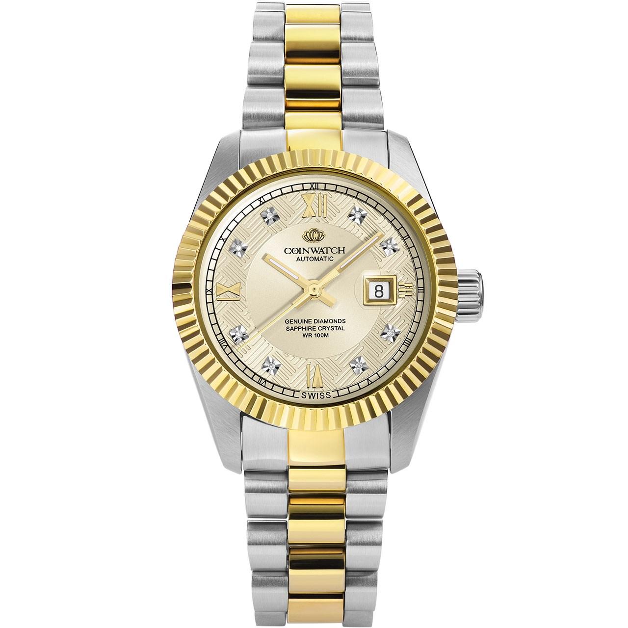 خرید ساعت مچی عقربه ای زنانه کوین واچ مدل C110TCD