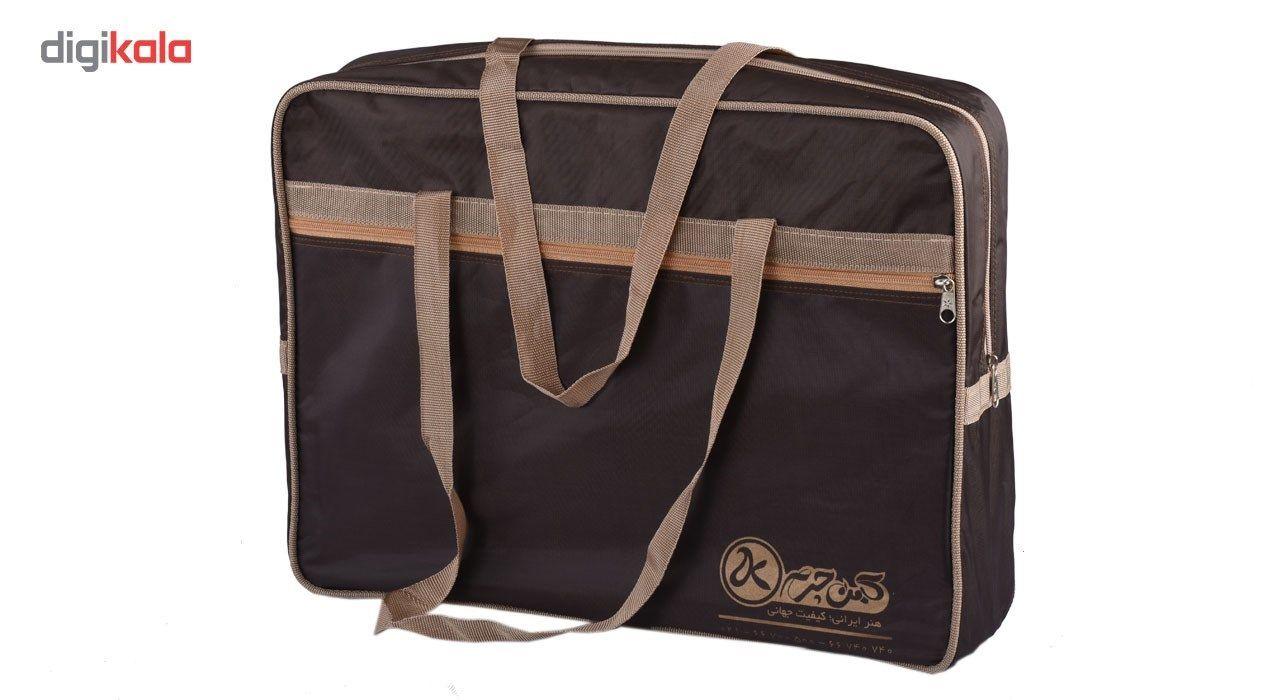 کیف اداری چرم طبیعی کهن چرم مدل L25 main 1 5