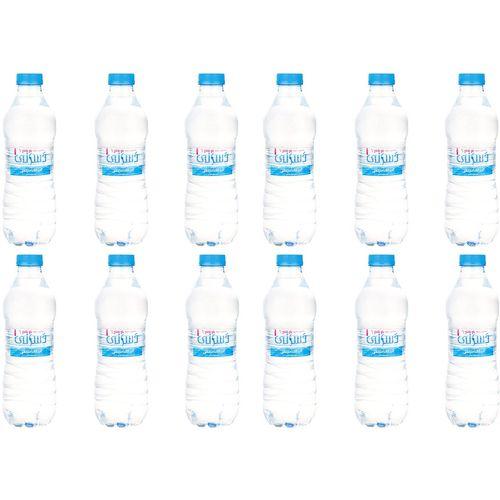 آب آشامیدنی دسانی مقدار 0.5 لیتر بسته 12 عددی