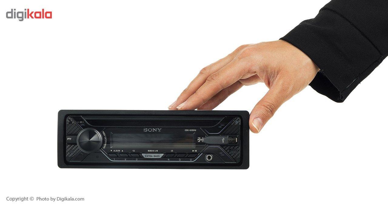 پخش کننده خودرو سونی مدل CDX-G1201U main 1 13