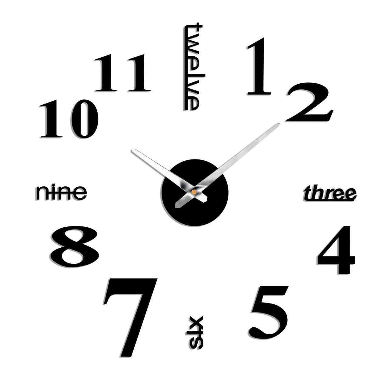 ساعت دیواری پدیده شاپ مدل Number