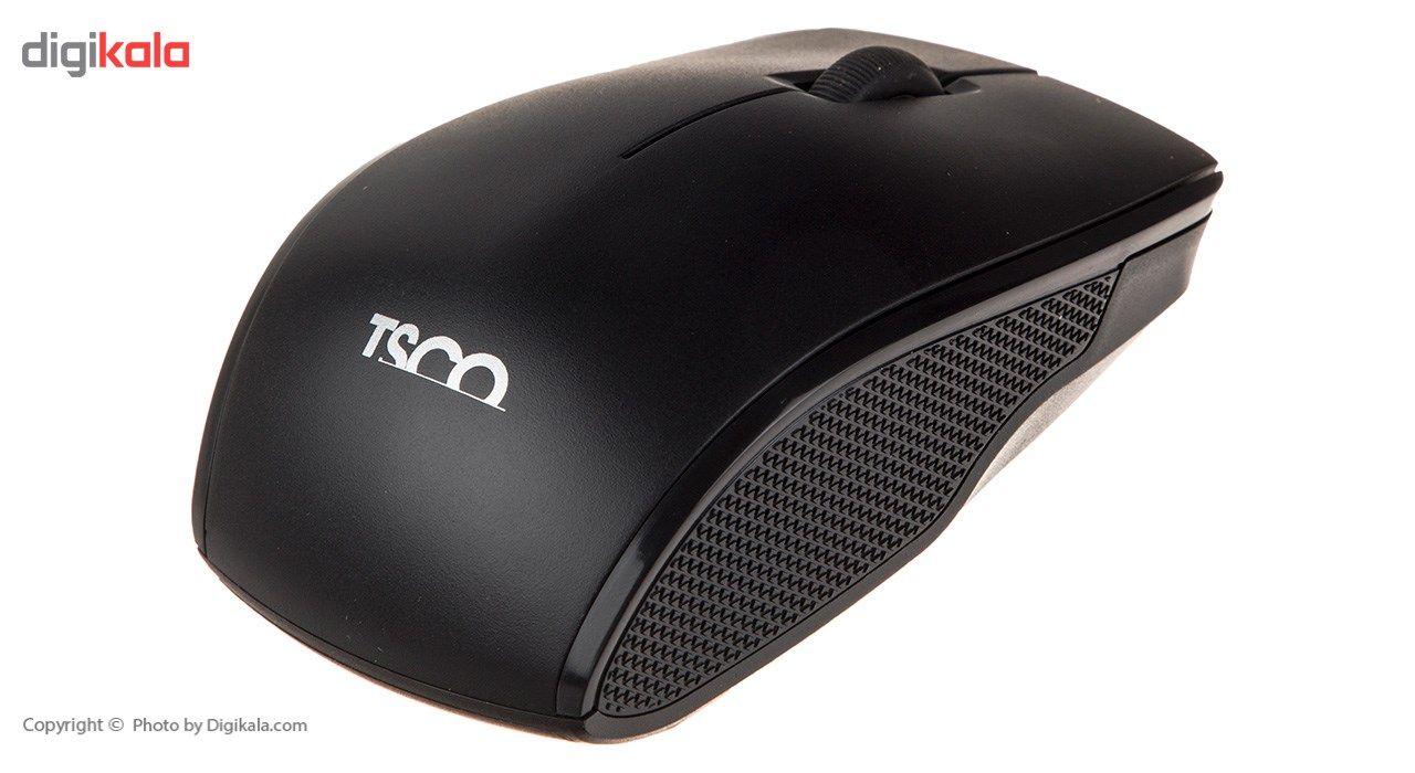 کیبورد و ماوس بی سیم تسکو مدل TKM 7018 main 1 9
