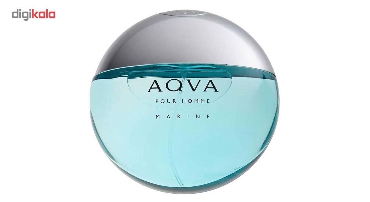 تستر ادو تویلت مردانه بولگاری مدل Aqva Pour Homme Marine حجم 100 میلی لیتر -  - 2