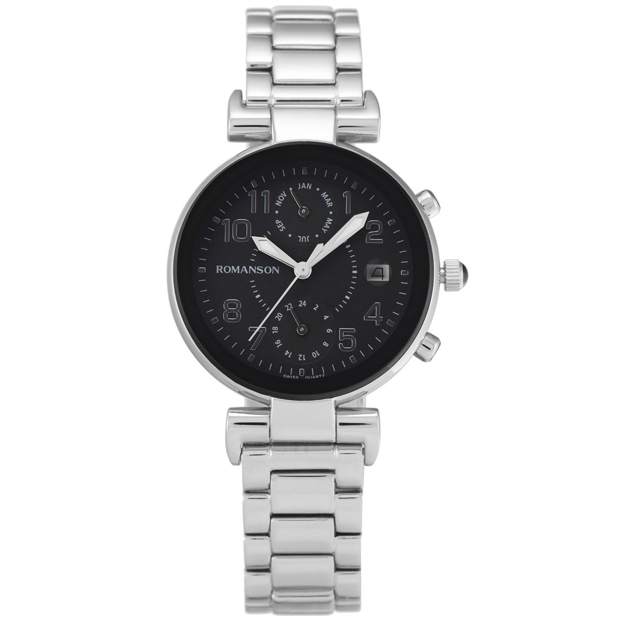 ساعت مچی عقربه ای زنانه رومانسون مدل RM4211FL1WA32W