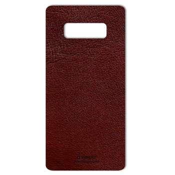 برچسب پوششی ماهوت مدلNatural Leather مناسب برای گوشی  Samsung Note 8