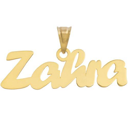 آویز گردنبند طلا 18 عیار ماهک مدل MN0182