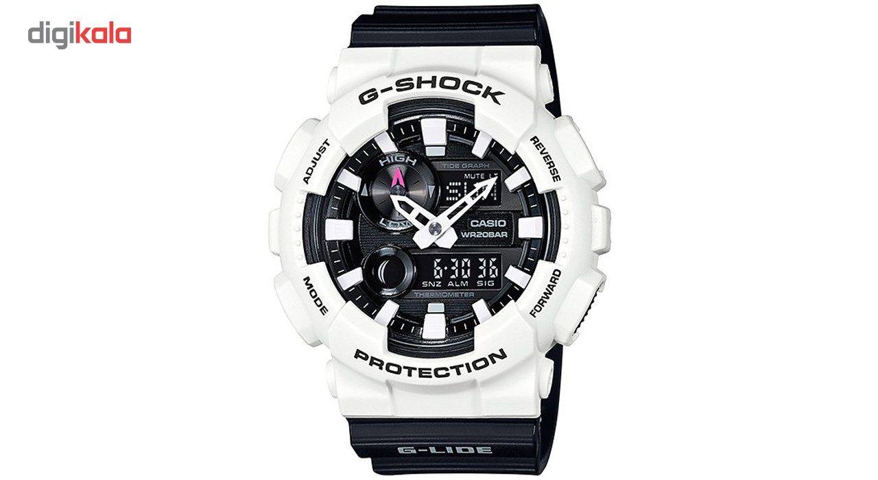 ساعت مچی عقربه ای مردانه کاسیو جی شاک مدل GAX-100B-7ADR -  - 1